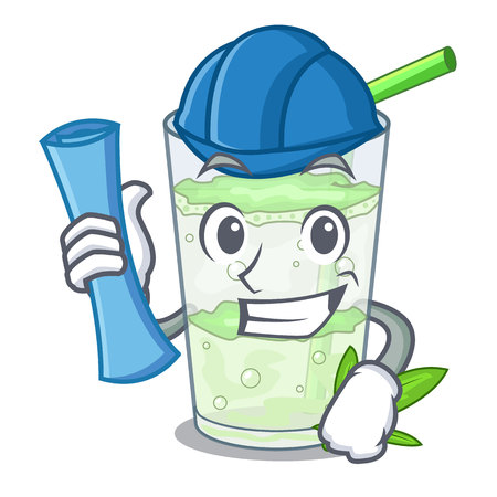 Architect Lassi juice bhang in bottle character