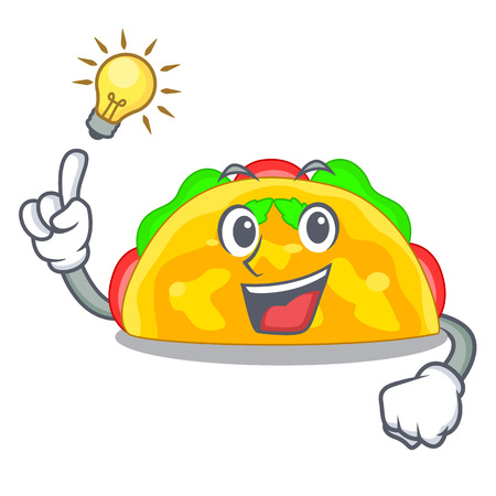 Have an idea omelatte fried isolated on the mascot vector illustration Illustration