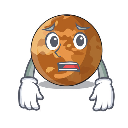 Afraid planet mercury shape in the character