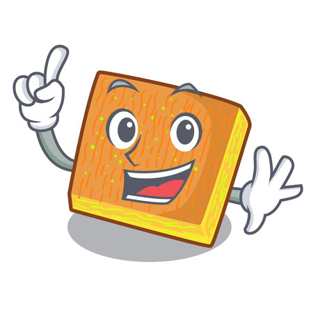 Finger kunafa was isolated from the mascot vector illustration Illusztráció