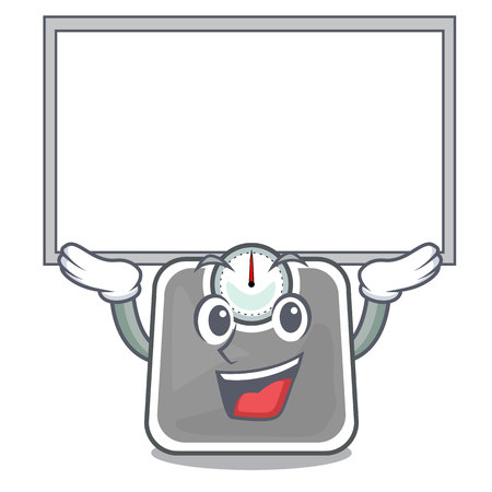 Up board weight scales in the shape characters