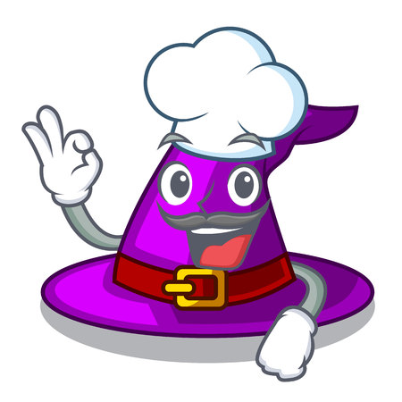 Chef with hat in the character closet vector illustration Imagens - 124796928