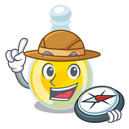 Explorer sesame oil in a mascot bowl