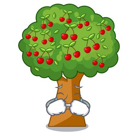Jouets de cerisier qui pleurent en forme de personnage