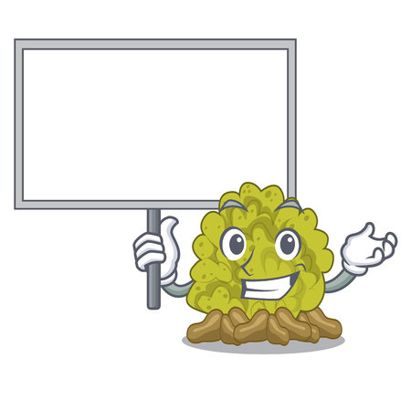 Bring board green coral reef in character shape