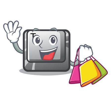 Pulsante Shopping T installato sul computer dei personaggi