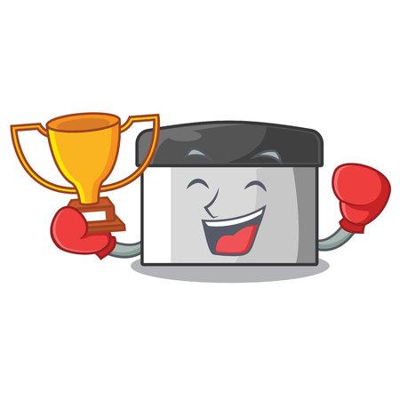 Boxing winner pastry scraper in the cartoon shape