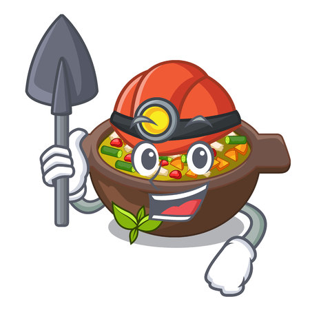 Miner fried minestrone in the cup character