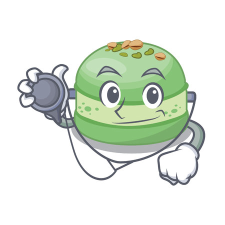 Doctor pistachio in the saucer cartoon