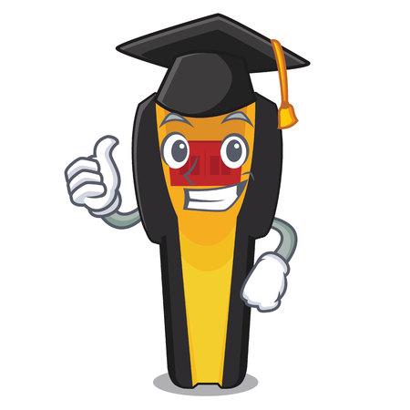 Graduation stud finder in the cartoon shape