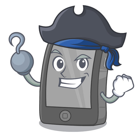 Pirate phone the in a mascot bag