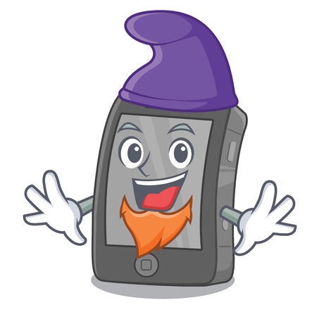 Elf phone the in a mascot bag