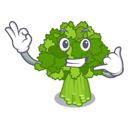 Call me broccoli rabe above cartoon plate