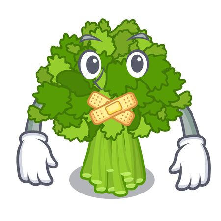 Silent broccoli rabe above cartoon plate