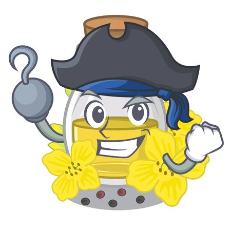 Pirate canola seed oil isolated in mascot