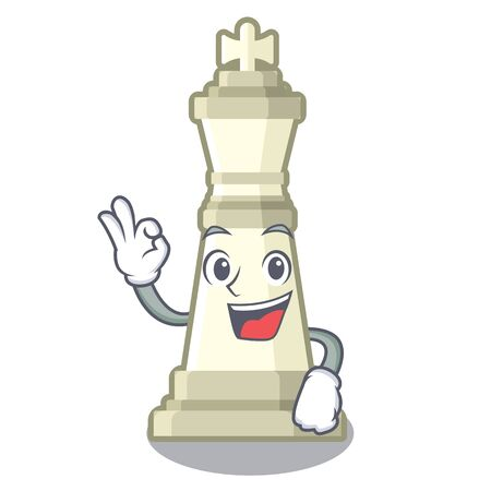 Okay chess king on a the mascot