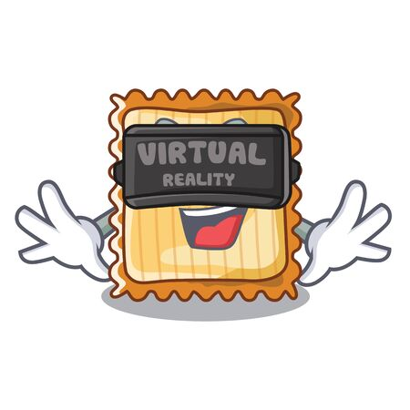 Virtual reality lasagne is cooked in mascot oven