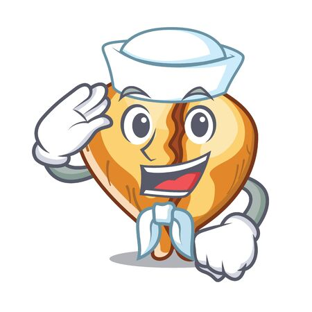 Sailor tortellini isolated with in the mascot