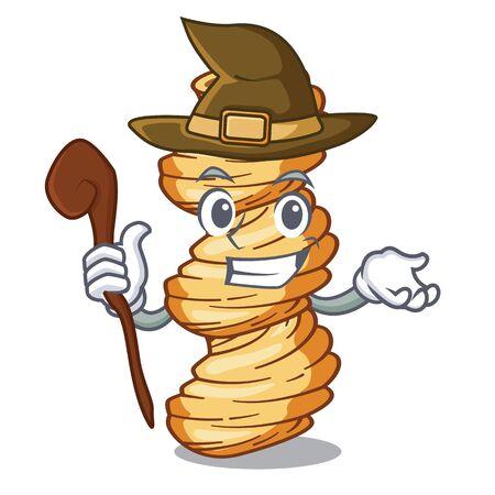 Pasta cellentani bruja en forma de personaje