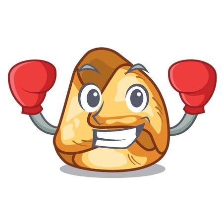 Boxing fusi istriani served in cartoon plates