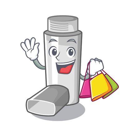 Compra inhaladores para el asma en caja de medicina de dibujos animados