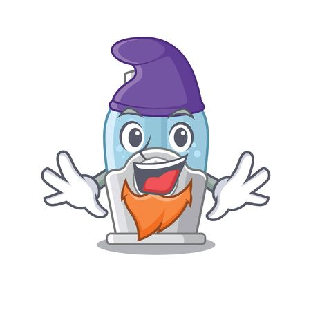 Elf humidifier isolated with in the mascot vector illustration