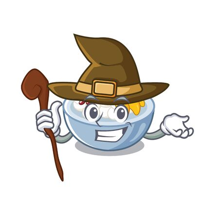 Witch anmitsu isolated with in the mascot