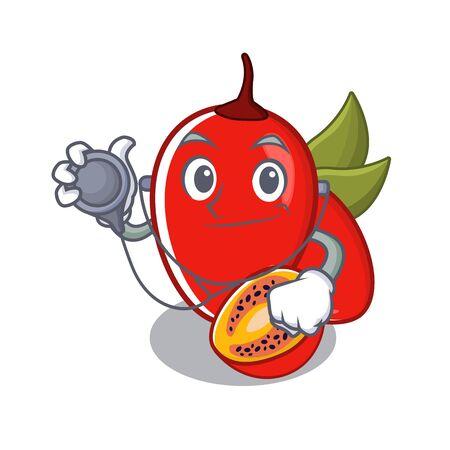 Doctor tamarillo betaceum in character fruit basket