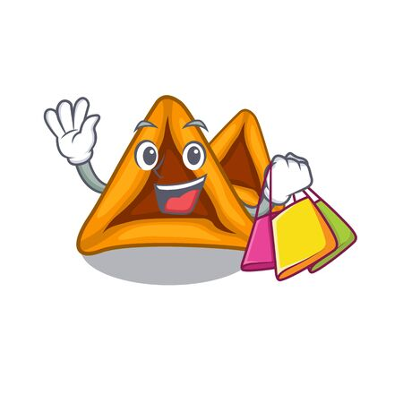 Chef hamantaschen cookies with the cartoon shape
