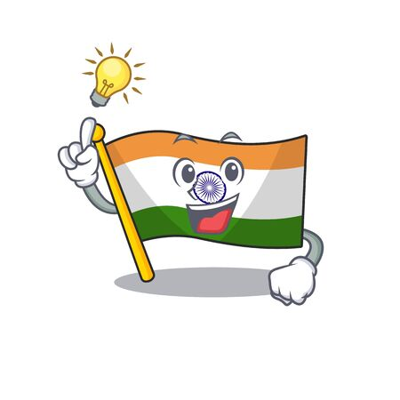 Have an idea indian flag kept in cartoon cupboard