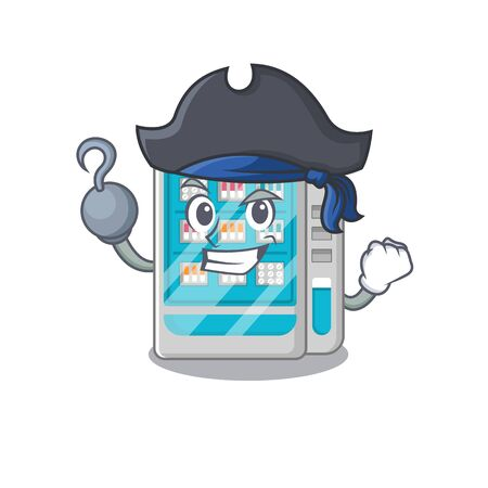 Pirate medicines vending machine on the cartoon