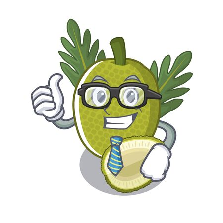 Businessman breadfruit with in the character shape vector illustration Stock Illustratie
