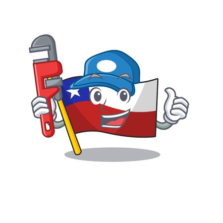 Plumber flag chile with in the character