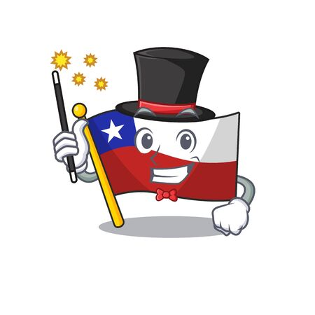 Magician flag chile with in the character