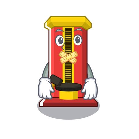 Silent hammer game machine with the cartoon