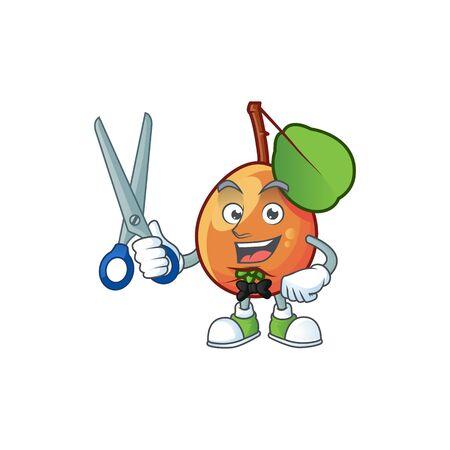 Barber shipova fruit cartoon character