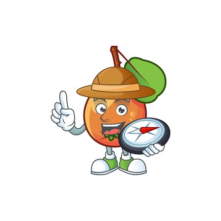 Explorer ripe shipova cartoon character mascot shape