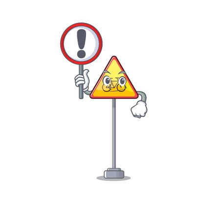 With sign no cycling isolated with the character vector illustration