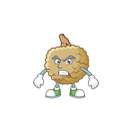 Scream marolo character mascot on white background vector illustration Ilustração