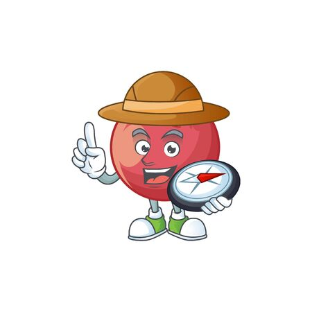 Explorer velvet apple fruit for healthy juice  イラスト・ベクター素材