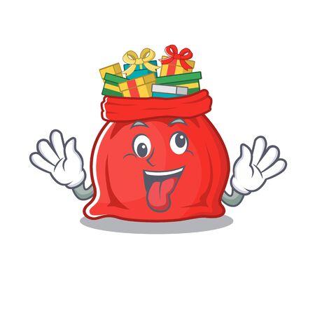 Crazy toy santa claus bag cartoon shape