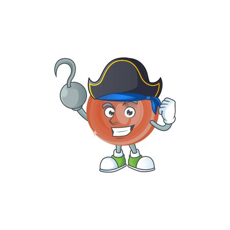 Pirate bronze coin cartoon character for collection.