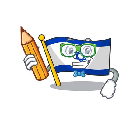 Student flag israel flown on mascot pole