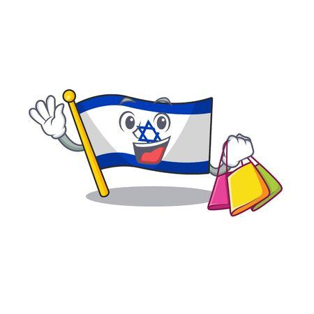 Shopping flag israel flown on mascot pole