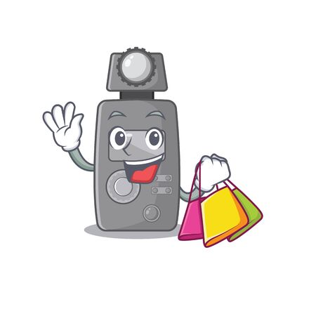 Shopping light meter isolated with the cartoon vector illustration