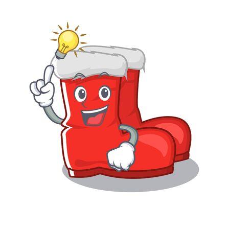 Have an idea santa boots with the cartoon shape