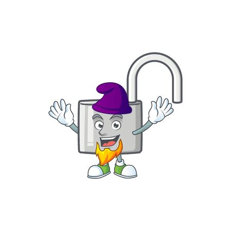Army unlock key with cartoon character design. vector illustration Ilustração
