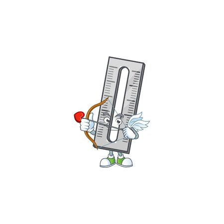 Cupid a rullers for the measuring instruments. vector illustration