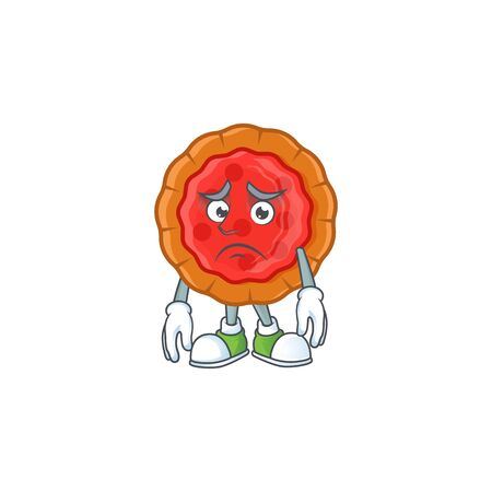Afraid fresh cherry pie in the character