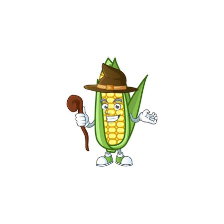 Character witch in the cartoon a corn